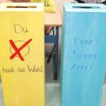 Die Mittelschule Sonthofen hat gewählt!